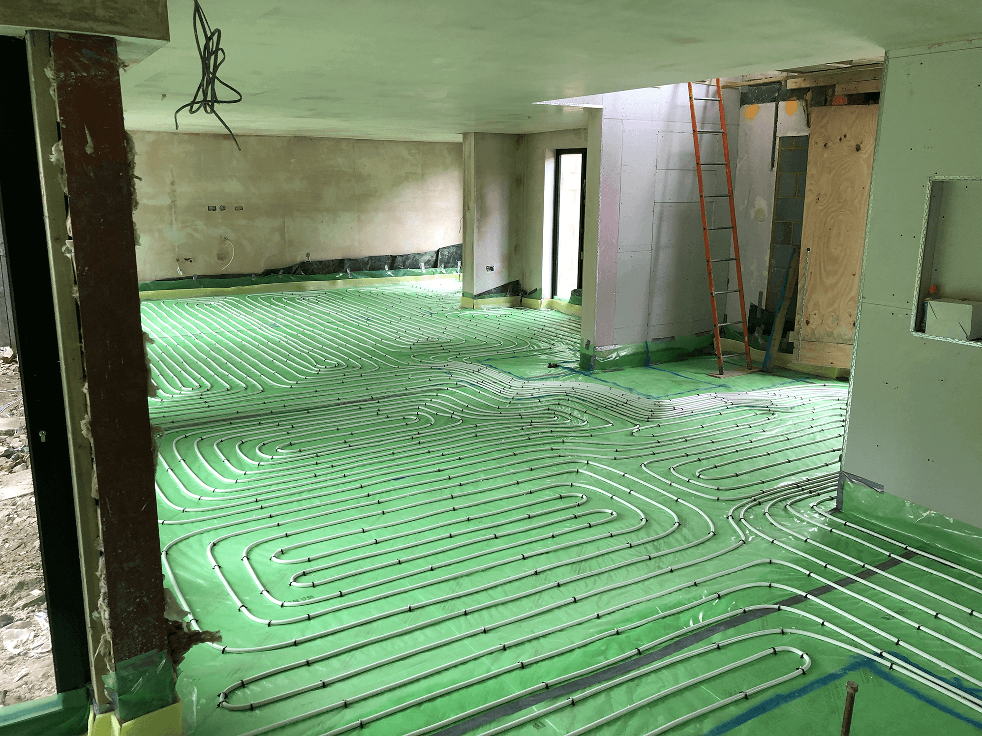 Plumbing underfloor heating Surrey