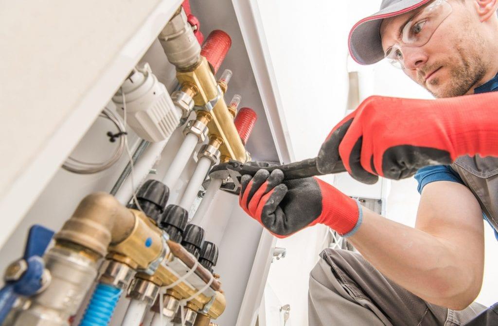Underfloor heating repair